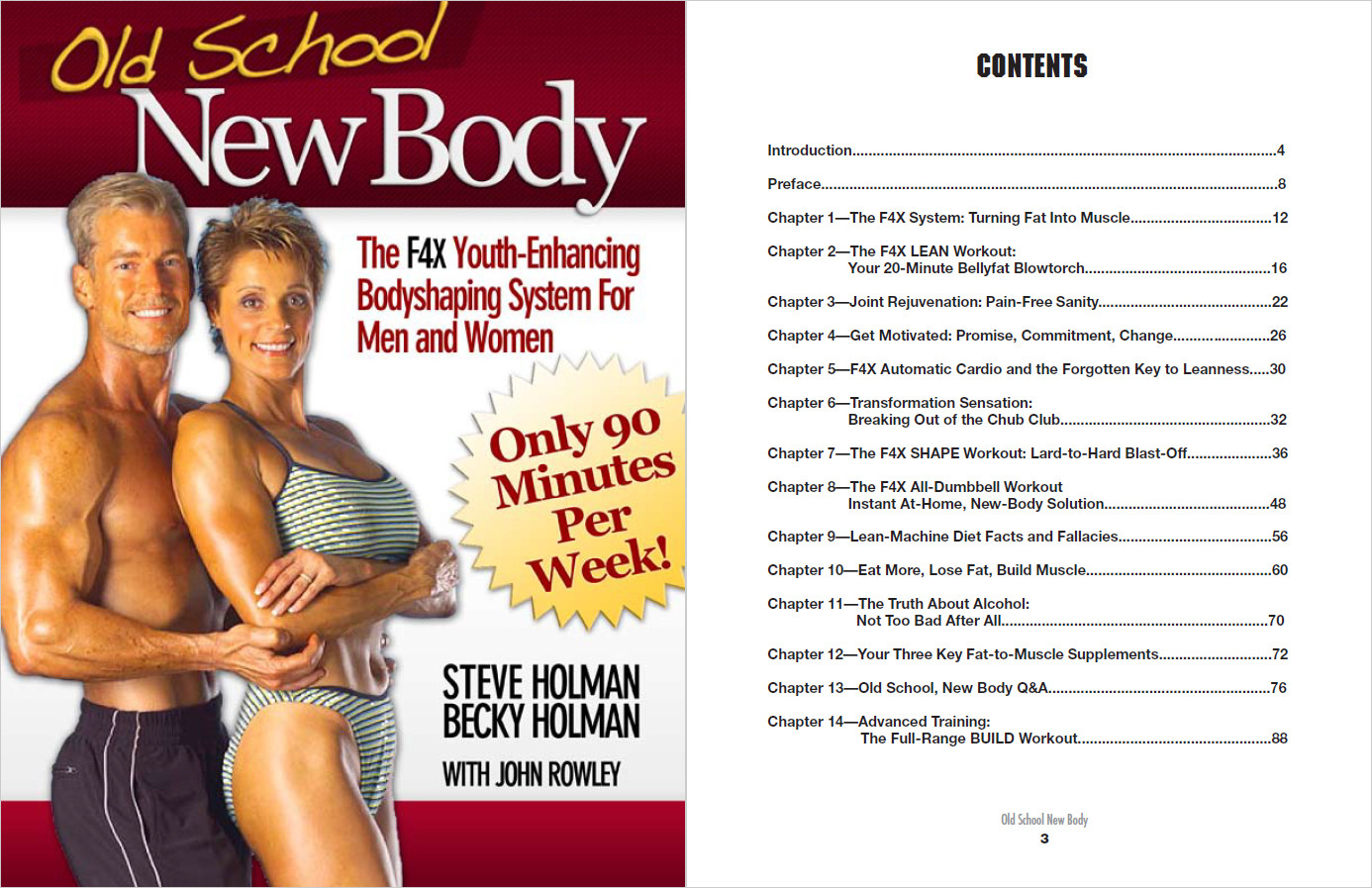 The Old School New Body Table Of Contents