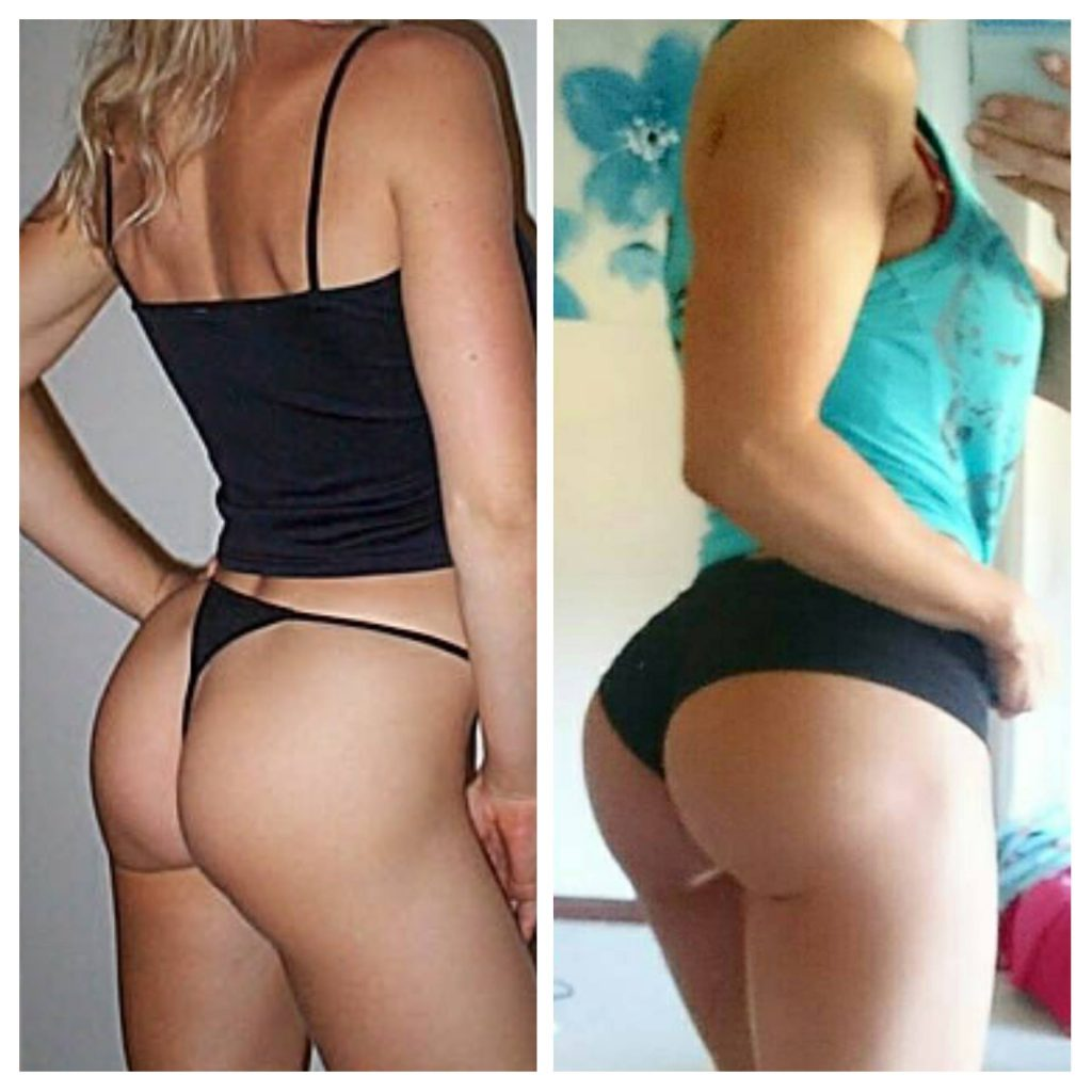 Unlock Your Glutes girl