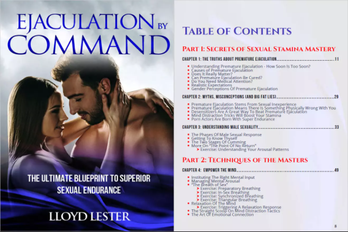 Ejaculation By Command Table Of Contents