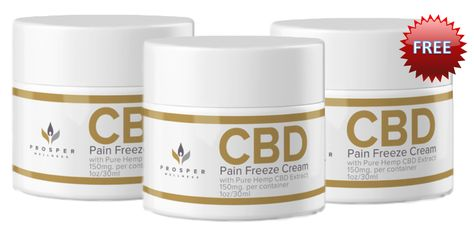 Prosper CBD Pain Freeze Cream