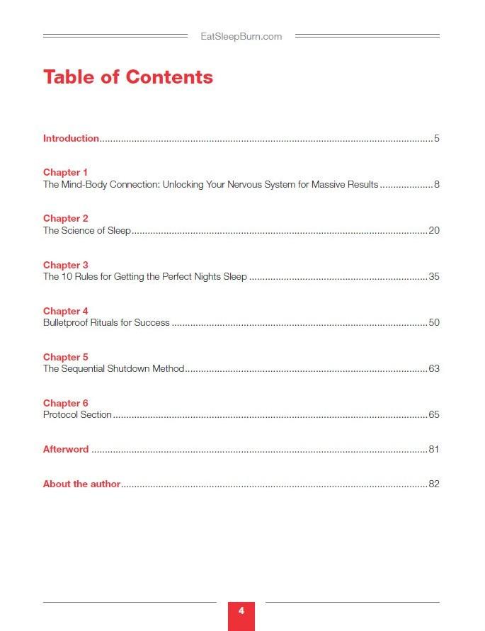 eat-sleep-burn-table-of-contents