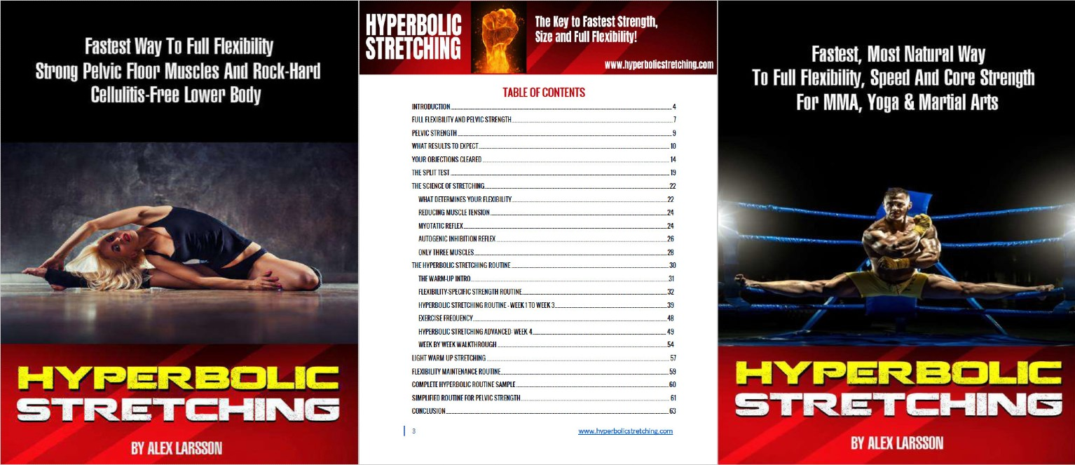 Hyperbolic Stretching Women Table Of Contents