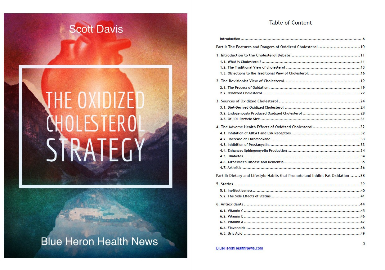 the oxidized cholesterol strategy table of contents
