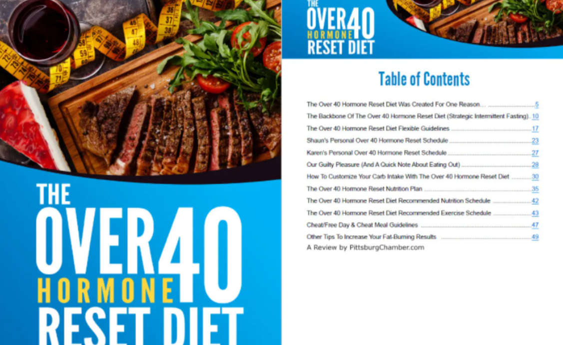 Over 40 Hormone Reset Diet Table Of Contents