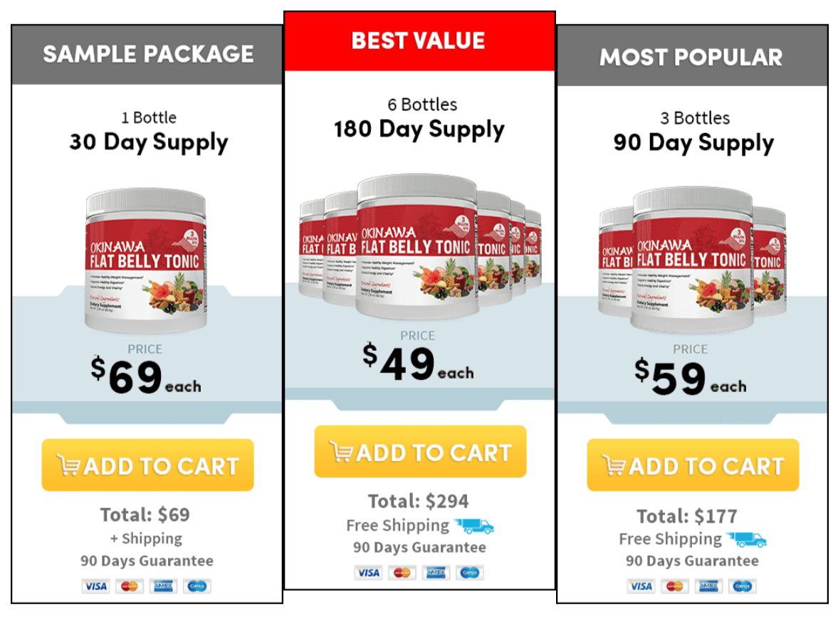 Buy Okinawa Flat Belly Tonic