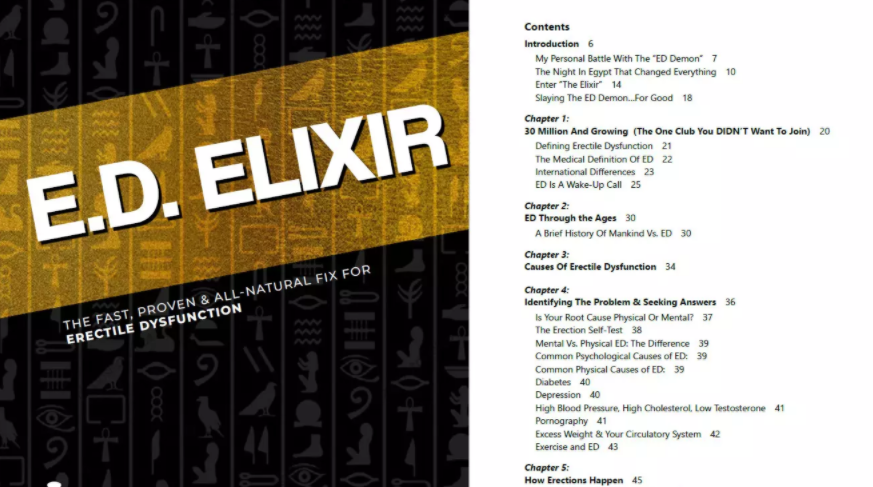 Ed Elixir Table Of Contents
