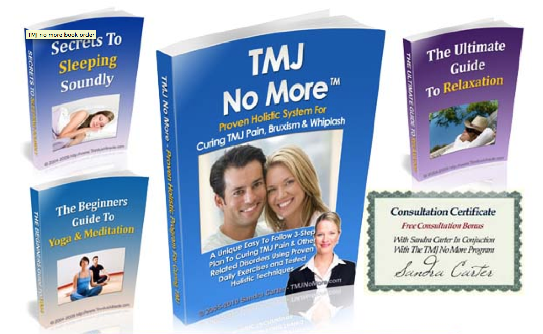 TMJ No More Book