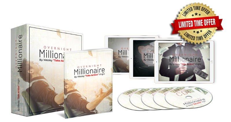 overnight millionaire system - wesley billion dollar virgin