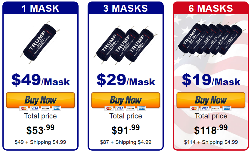 Patriot Face Mask Add to Cart