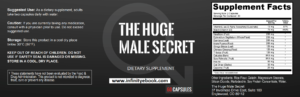 Huge Male Secret Lable
