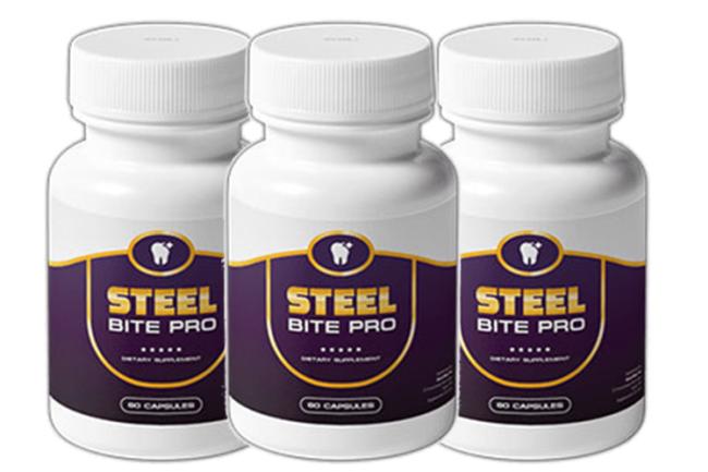 Steel Bite Pro Ingredients Label