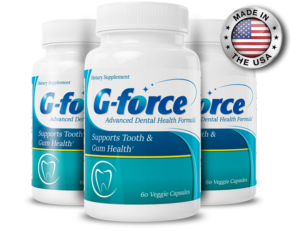 G-Force Ingredients Label