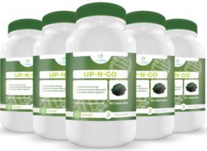 Up N Go Energy Ingredients Label
