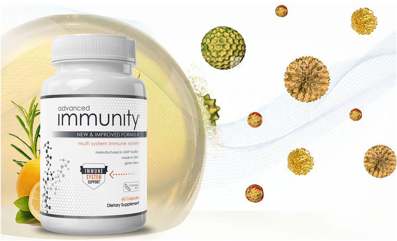 Advanced Immunity Ingredients Label