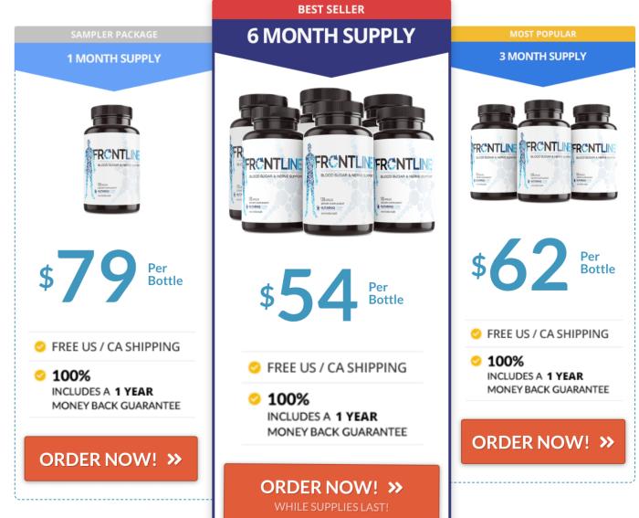 Buy Frontline Diabetes