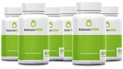 Ketosis Now Ingredients Label