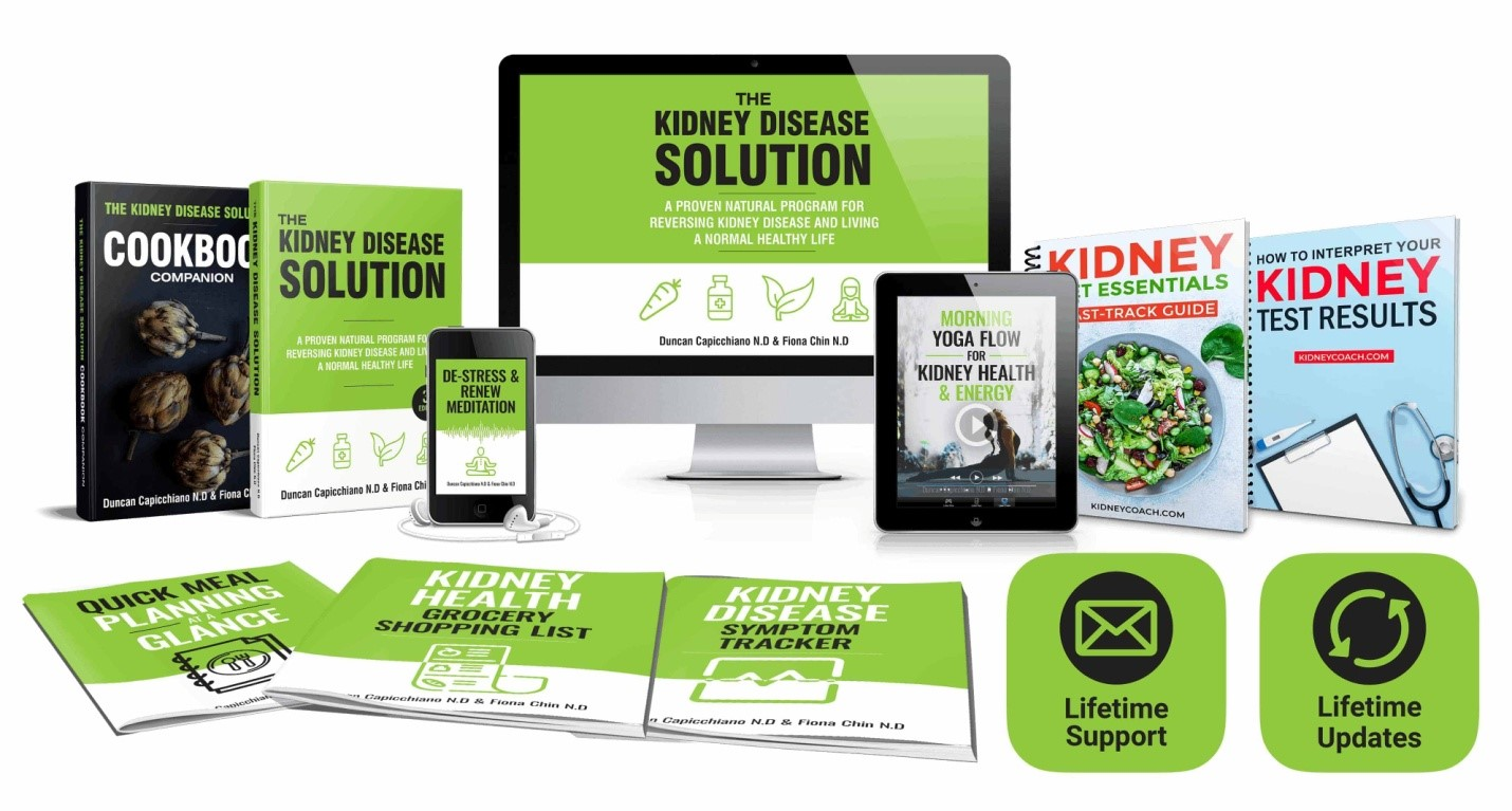 Duncan Capicchiano The Kidney Disease Solution Book Package