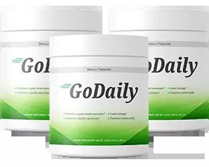 GoDaily Prebiotic Ingredients Label