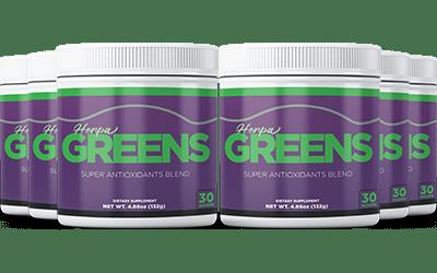 HerpaGreens Ingredients Label