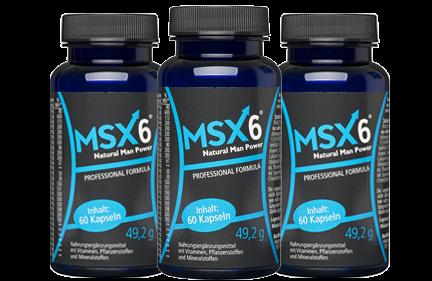 MSX6 Ingredients Label