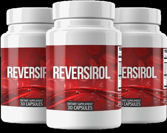 Reversirol Ingredients Label