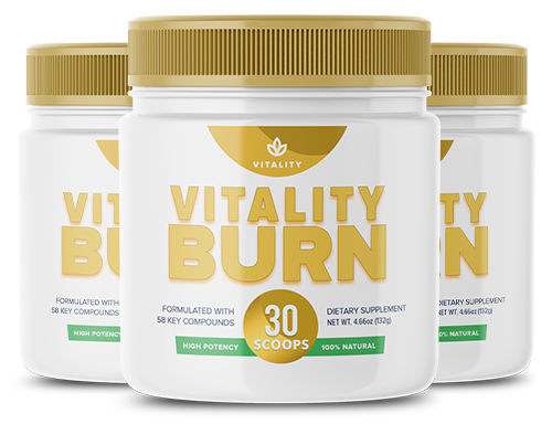 Vitality Burn Ingredients Label