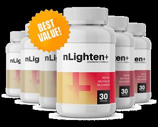 nLighten Plus Ingredients Label
