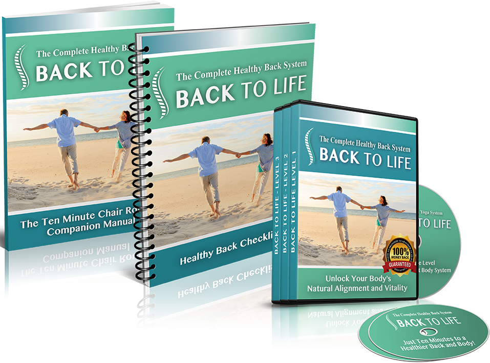 Back To Life - 3 Level Healthy Back Book