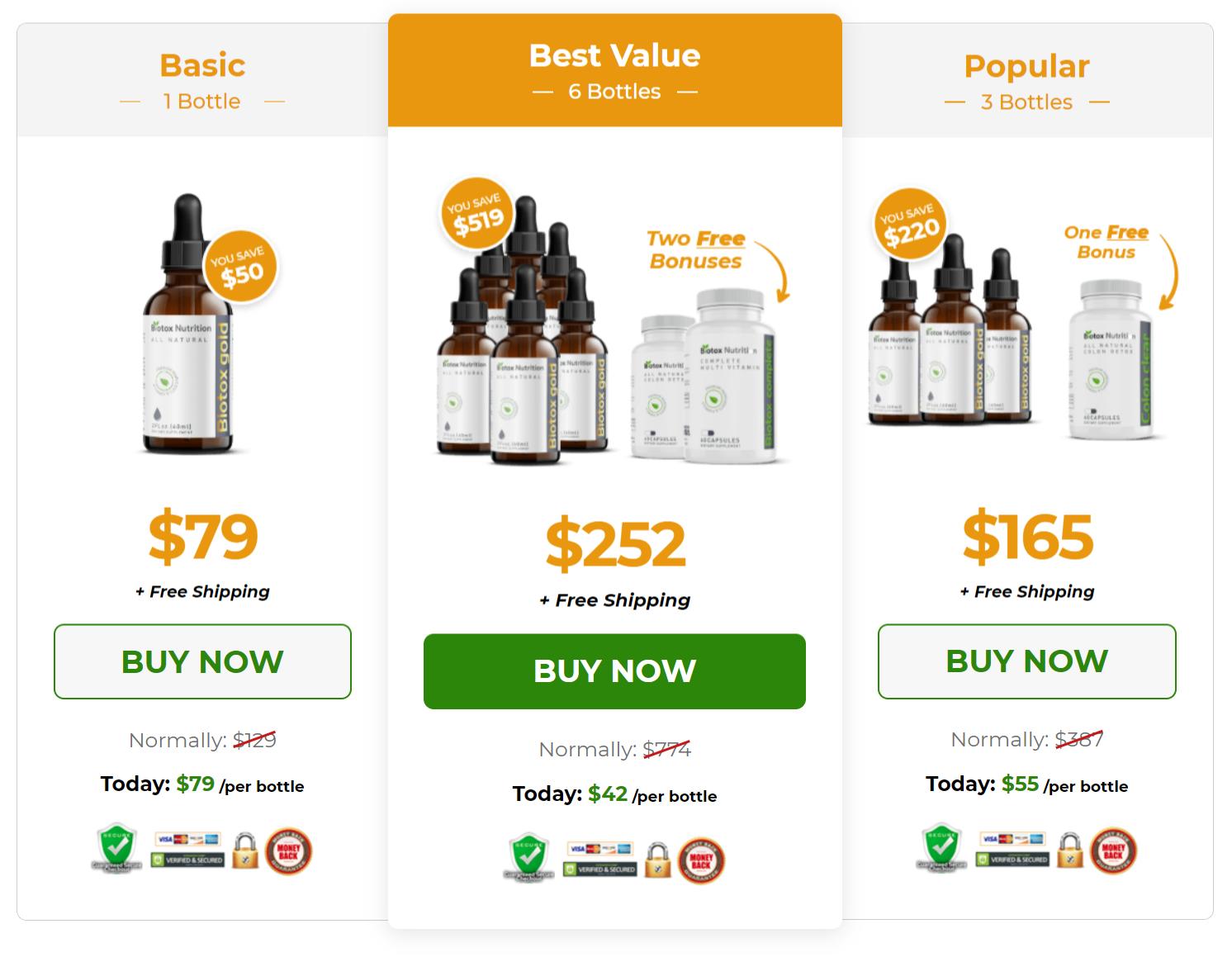Biotox Gold Buy Online
