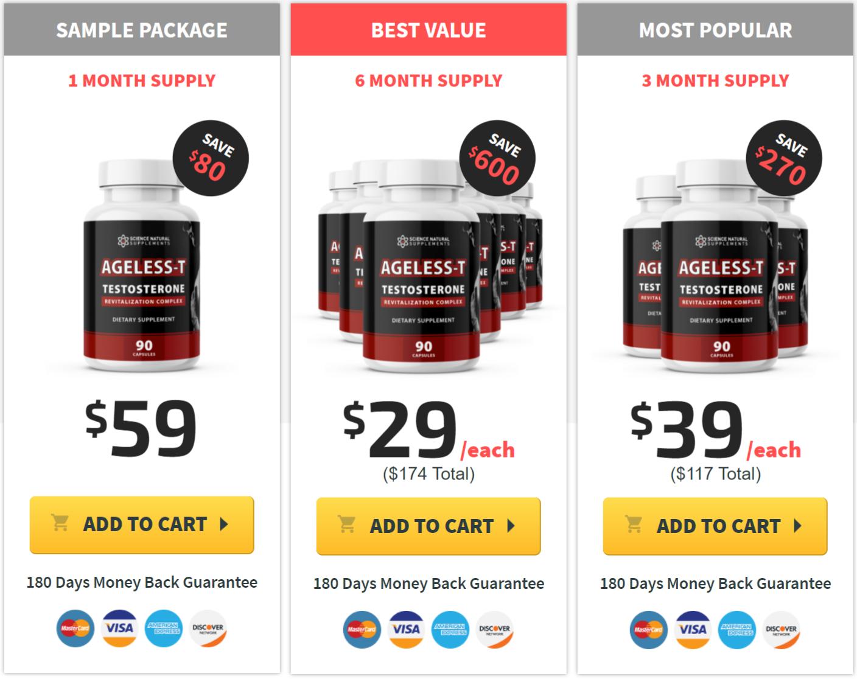 Buy Ageless-T Testosterone
