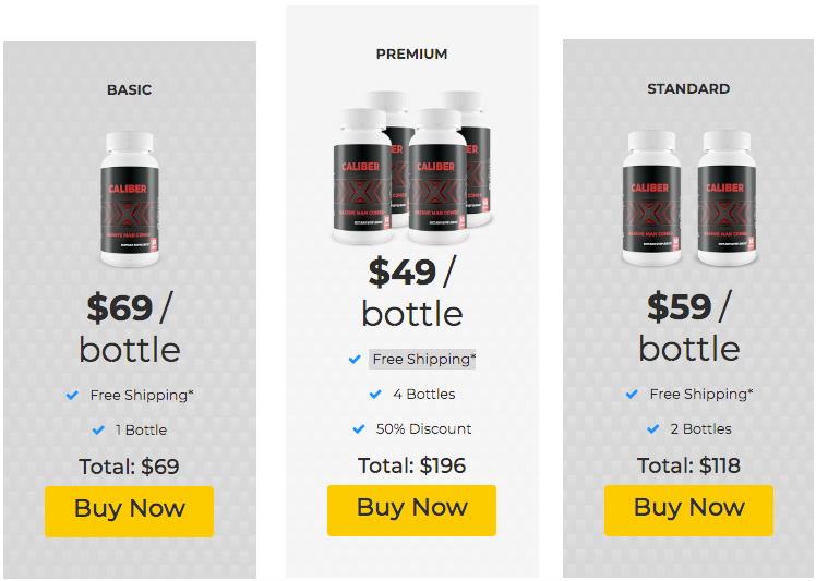 Buy CaliberX Male Enhancement Supplement