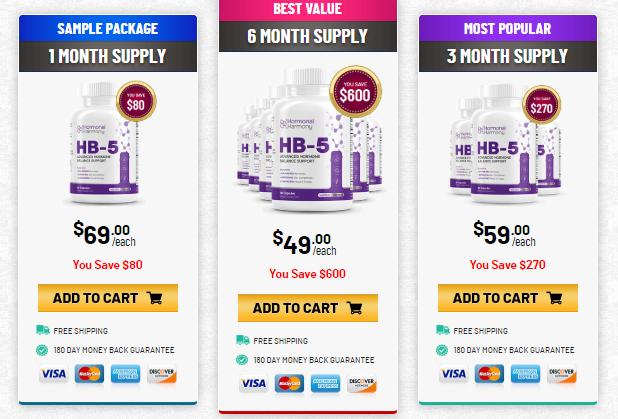 Buy HB5 Hormonal Harmony