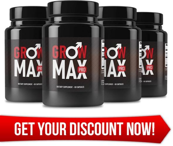 Grow Max Pro Male Enhancement Pills Supplement Buy