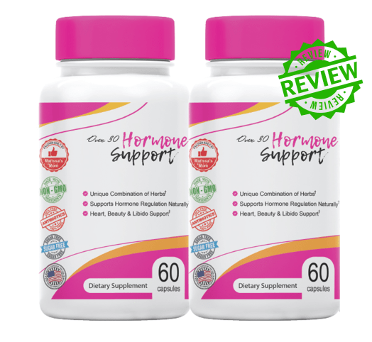 Over 30 Hormone Support Ingredients Label