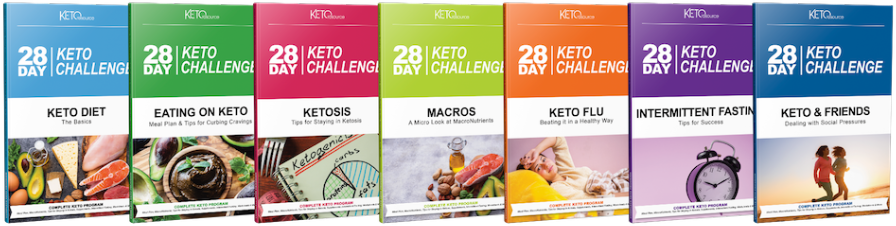 28-Day Keto Challenge Book