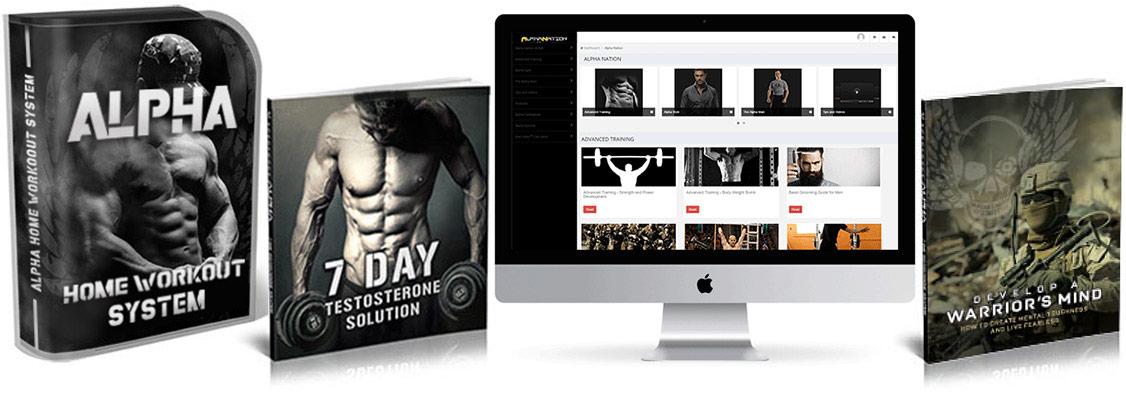 Alpha Home Workout System Book