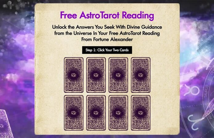 Astro Tarot Reading Table Of Contents