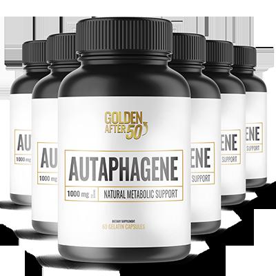 Autaphagene Ingredients Label