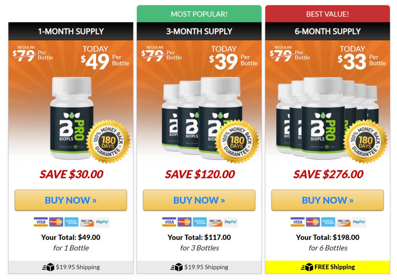 Buy BioPls Slim Pro