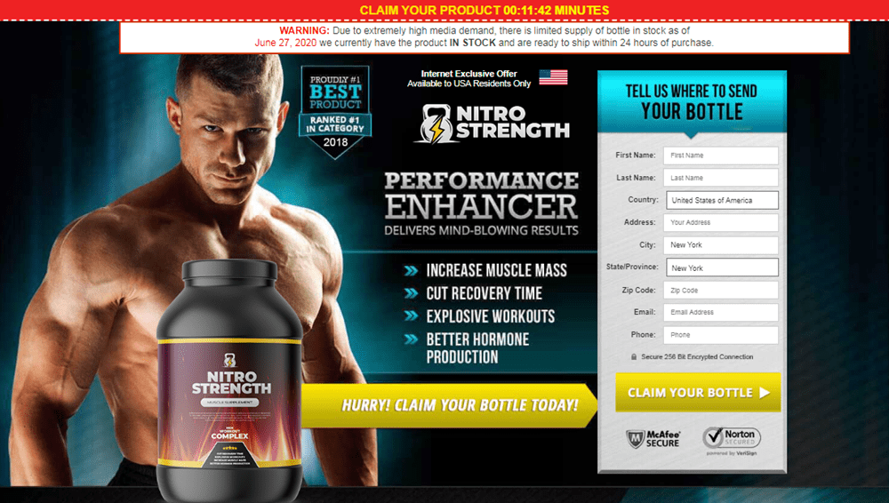 Buy Nitro Strength