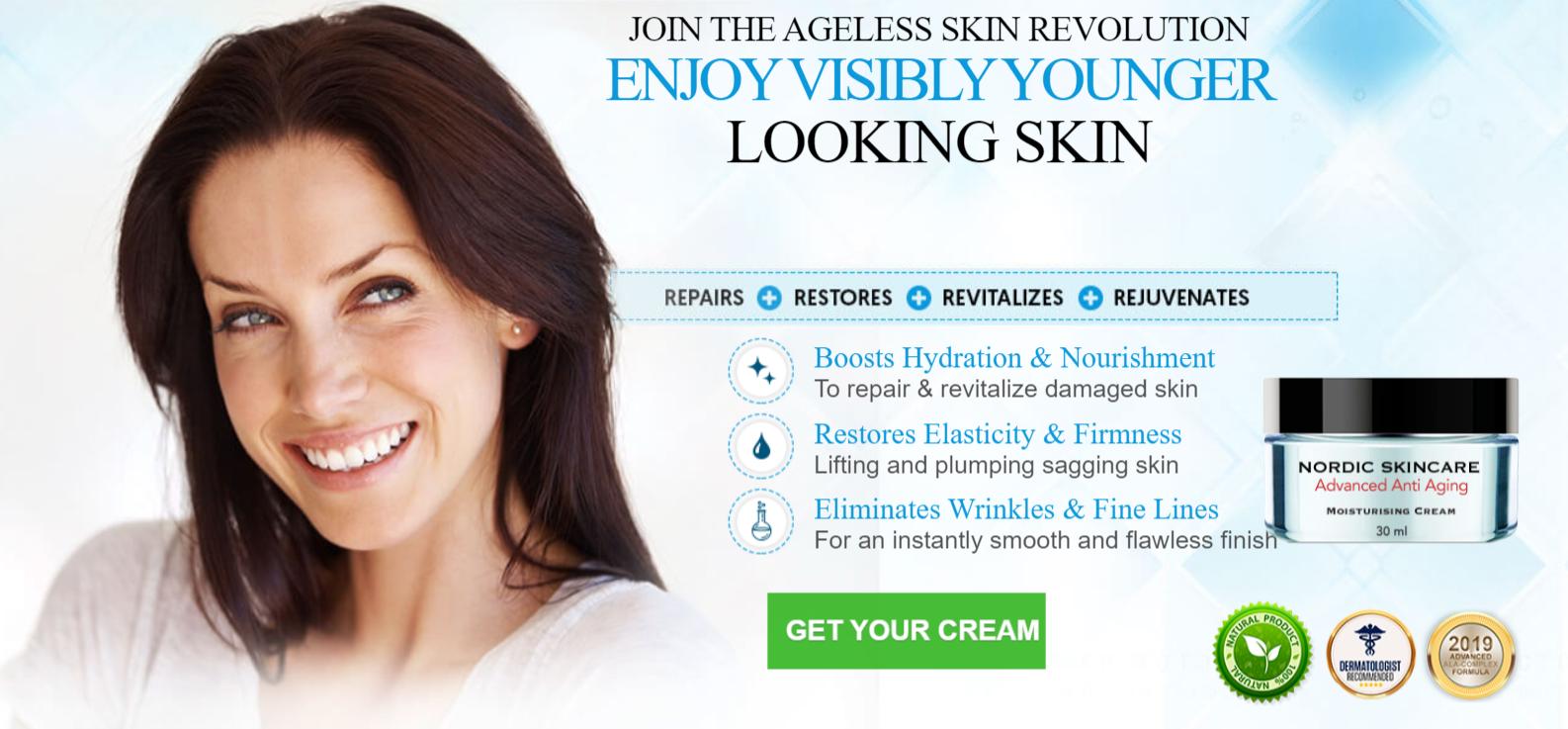 Buy Nordic Skincare Advanced Anti Aging Cream Uk