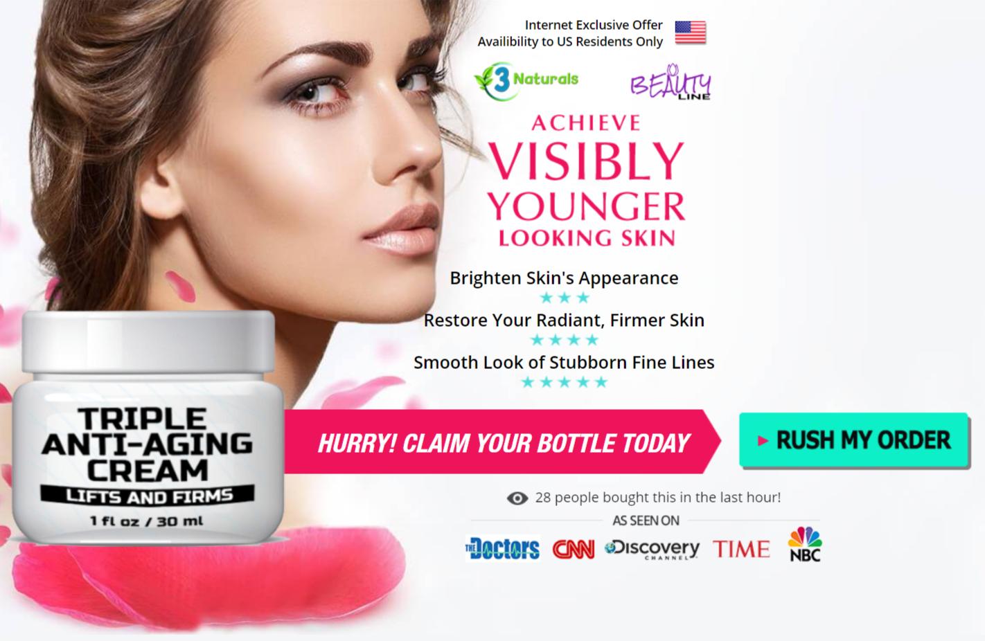 Buy Triple Anti-Aging Cream