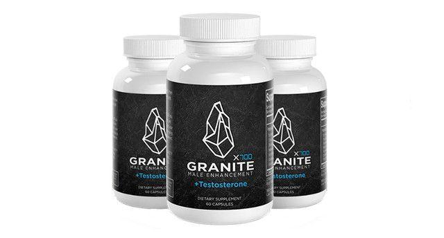 Granite Male Enhancement Ingredients Label
