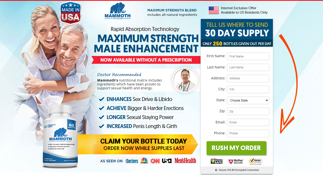 Mammoth Male Enhancement Pills Reviews
