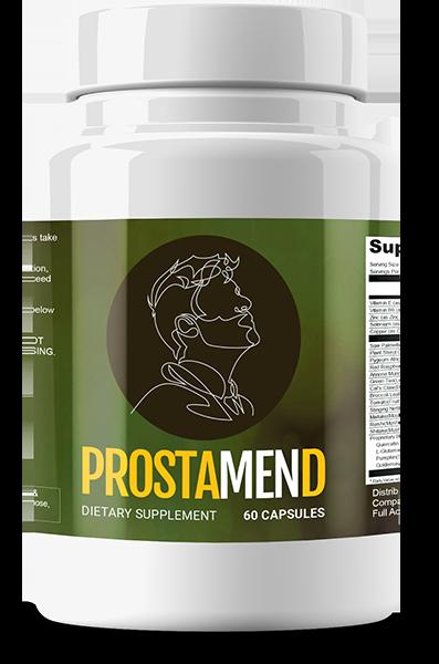 Prostamend Ingredients List Label