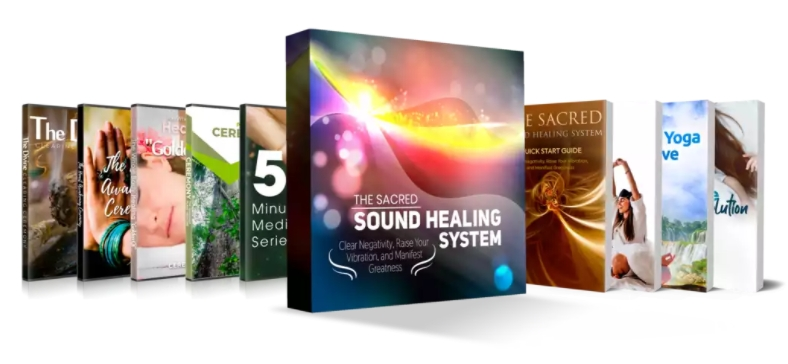 Sacred Sound Healing System Book