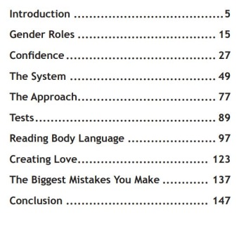 The Tao Of Badass Table Of Contents