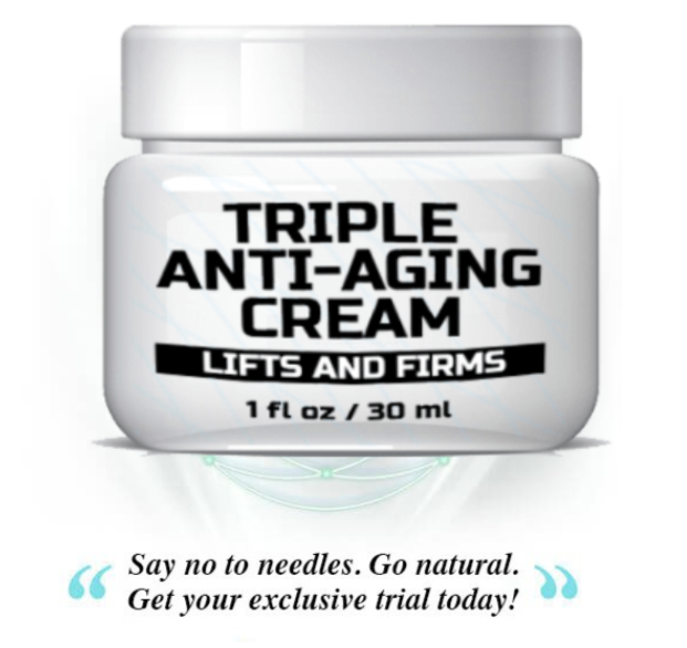 Triple Anti-Aging Cream By Triple Naturals