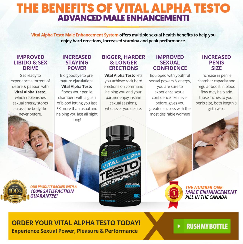 Vital Alpha Testo Benefits