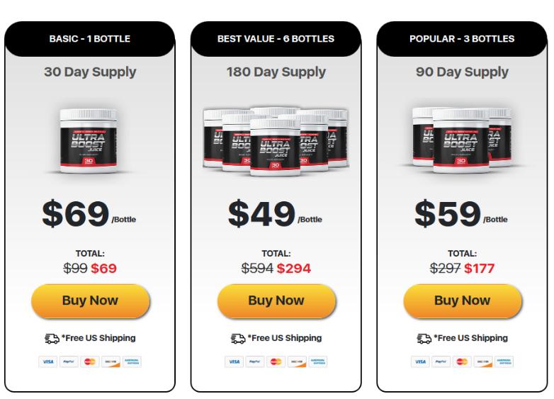 Buy Ultra Boost Juice